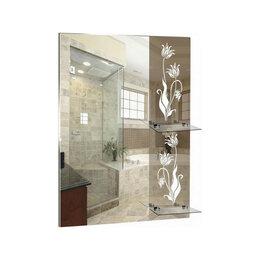 Зеркала - Серебрянные зеркала Зеркало настенное Серебрянные зеркала Роса 610х740 (2штук..., 0