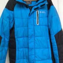 Куртки - Толстая зимняя синтепоновая куртка мужская, 0