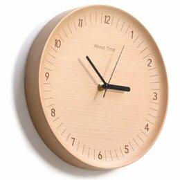 Часы настенные - Настенные часы Xiaomi About Time из натурального дерева, 0