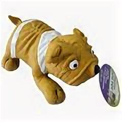 Аксессуары для амуниции и дрессировки  - MAJOR игрушка для собак Собака с пищалкой латекс 20х13.5х9 см , 0