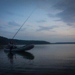 Надувные, разборные и гребные суда - Надувная лодка байдарка Налим-150, 0