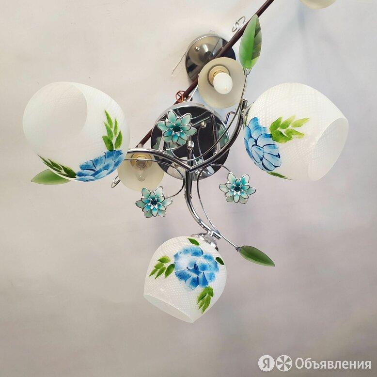Новая люстра по цене 1500₽ - Люстры и потолочные светильники, фото 0