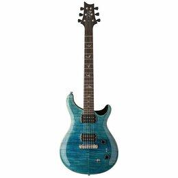 Электрогитары и бас-гитары - Электрогитара PRS SE PAULS GUITAR AQUA, с чехлом, 0