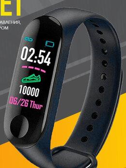 Умные часы и браслеты - Смарт фитнес браслет М3, 0