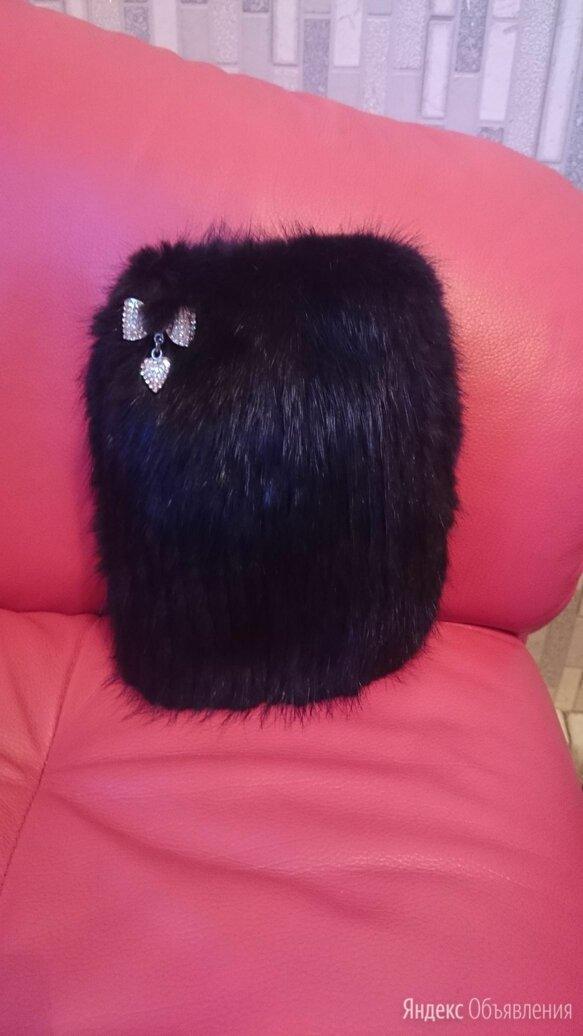 Норковая шапка для девочки по цене 3000₽ - Головные уборы, фото 0