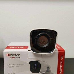 Камеры видеонаблюдения - Видеокамера hiwatch DS-t200 (B) (2.8-2шт и 3.6-2шт), 0