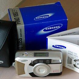 Пленочные фотоаппараты - Фотоаппарат плёночный Samsung Fino 105s Quartz Date, 0