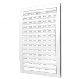 Вентиляционные решётки - Решетка 150х150   регулируемая    1515РРП   ЭРА, 0