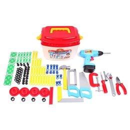 Детские наборы инструментов - ТехноК Набор инструментов, 94 элементов, в чемодане, 0