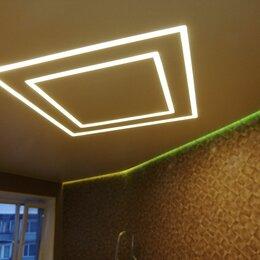Потолки и комплектующие - Натяжные потолки с подсветкой, 0