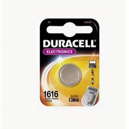 Батарейки - DURACELL Элемент питания CR1616/1BL (1/20), 0