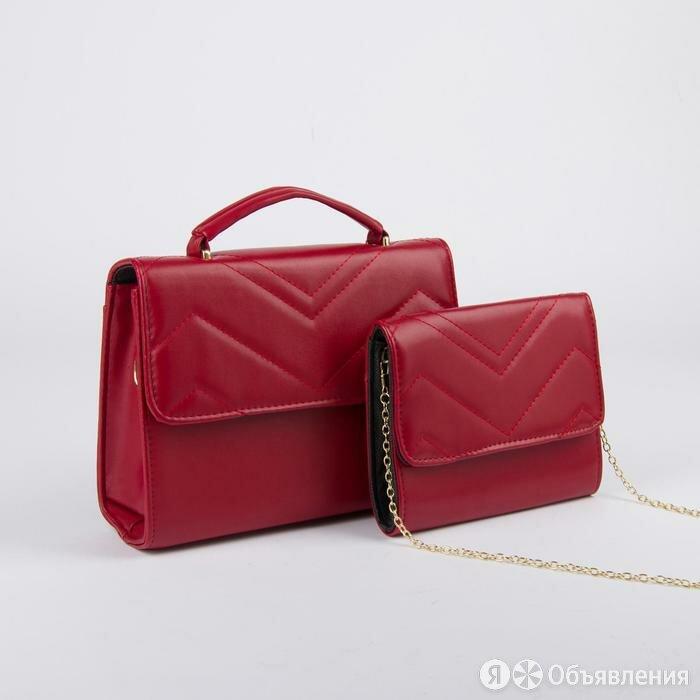 Набор сумок, отдел на клапане, длинный ремень, цепочка, цвет красный по цене 2362₽ - Средства индивидуальной защиты, фото 0