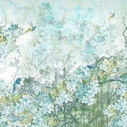 Фактурные декоративные покрытия - Эко Фреска фотообои Шинуазри, 0