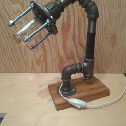 Настольные лампы и светильники - Лампа лофт, 0