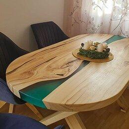 Дизайн, изготовление и реставрация товаров - Стол из эпоксидной смолы и дерева , столы лофт, 0