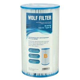Фильтры, насосы и хлоргенераторы - Картридж для очистки воды в бассейнах для фильтрующих насосов INTEX, тип B, 1..., 0