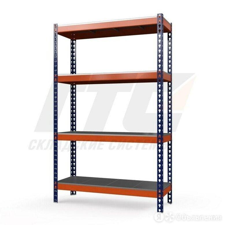 Стеллаж металлический Профи-Т 2000x1845x655 мм. Полки: оцинк. мет. усил. 4 шт. по цене 29032₽ - Мебель для учреждений, фото 0
