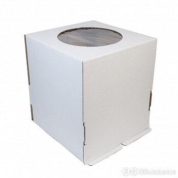 Короб картонный 30*30*30 см., с окном по цене 95₽ - Упаковочные материалы, фото 0