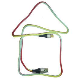 Компьютерные кабели, разъемы, переходники - Кабель X10 v8 100см 3-х цветн. ткань, 0