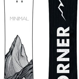 Скейтборды и лонгборды - Сноуборд SHORNER MINIMAL, 0
