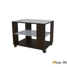 Столы и столики - Стол журнальный BeautyStyle 5 в цвете Венге-Белое стекло, 0