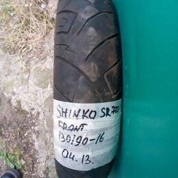 Шины, диски и комплектующие - Мотошина 30/90-16 Shinko SR777 , 0