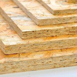 Древесно-плитные материалы - Плита ОСП-3 (OSB-3) влагостойкая 6, 9, 12, 15, 18 мм, 0