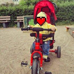 Трехколесные велосипеды - Велосипед детский capella трехколесный красный, 0