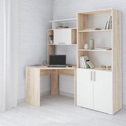 Компьютерные и письменные столы - Компьютерный стол квартет-12  дуб сонома текс, 0