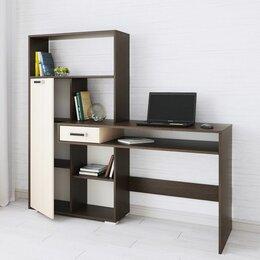 Компьютерные и письменные столы - Стол компьютерный квартет-8 венге 💥0747💥 , 0