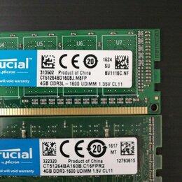 Модули памяти - Модуль памяти. DDR3 4GB. 1600, 0