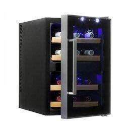 Винные шкафы - Винный шкаф cold vine c12-tbf2 черный, 0
