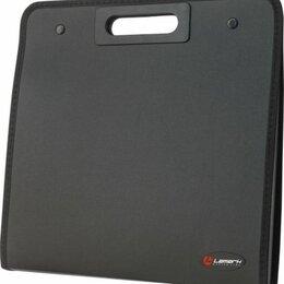 Портфели - Портфель 13 отд. Lamark, черный с окантовкой на кнопках, вырубная ручка (6), 0