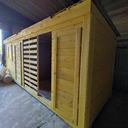Готовые строения - Бытовка с дровником А-692, 0