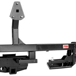 Кузовные запчасти - Калитка РИФ с квадратом под фаркоп в штатный задний бампер Toyota Land Cruis..., 0