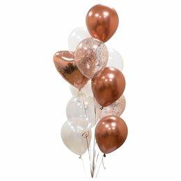 Воздушные шары - Фонтан из шаров, надутых гелием, 0
