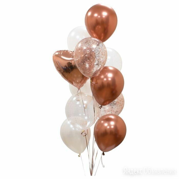 Фонтан из шаров, надутых гелием по цене 1134₽ - Воздушные шары, фото 0