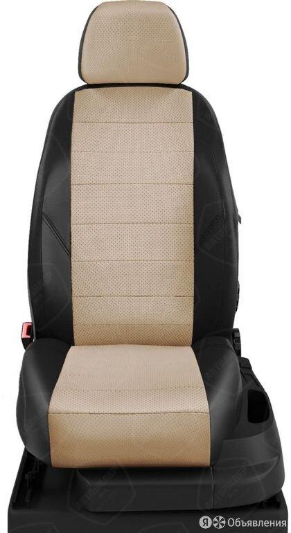 Чехлы на сидения BYD F3 2005 2020 Черный/Бежевый (арт.CR35-0101-EC04) по цене 7070₽ - Аксессуары для салона, фото 0