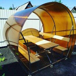 Комплекты садовой мебели - Беседка со столиком из поликарбоната, 0