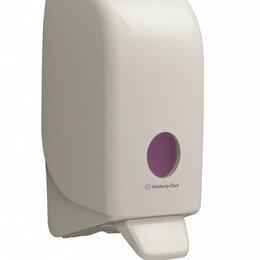Мыльницы, стаканы и дозаторы - Диспенсер AQUARIUS для моющих и дезинфицирующих средств, белый, 0