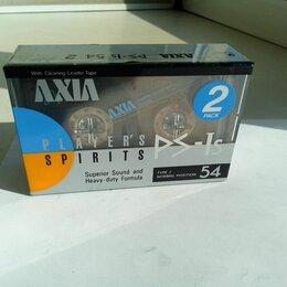 Музыкальные CD и аудиокассеты - Аудиокассета AXIA Type I Normal Position PS-Is (упаковка из 2 шт) 54 min  , 0