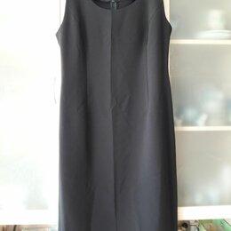 Платья - Платье-футляр черное, 0