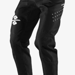 Защита и экипировка - Велоштаны подростковые 100% R-Core Youth Pants Black 2019 (Размер; W28), 0
