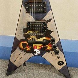 Электрогитары и бас-гитары - Стрела Washburn WV16 G11 V-Snape 24 лада. Доставка, 0