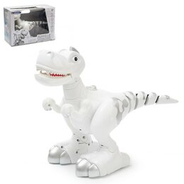 Роботы и трансформеры - Интерактивный робот «Умный Динозавр» с подвижным хвостом, ходит, реагирует на..., 0