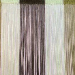Шторы - Нитяные шторы Portgallery радуга вертикальная №15/19/210, плотные, 0