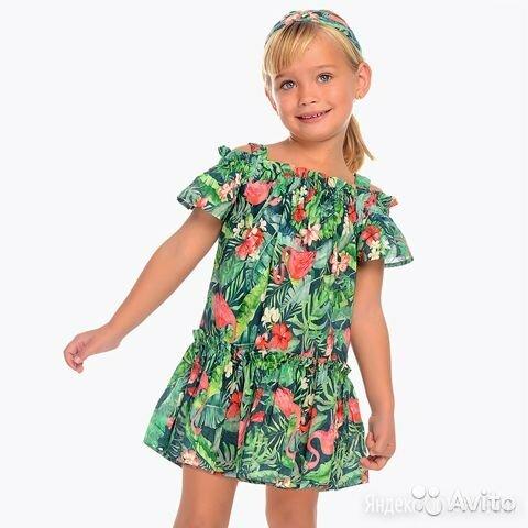 Сарафан Mayoral для девочки, 3 года по цене 1527₽ - Платья и сарафаны, фото 0