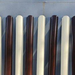 Заборы, ворота и элементы - Металлический штакетник микс оригинальный забор , 0