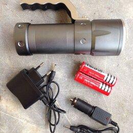 Аксессуары и комплектующие - Светодиодный аккумуляторный фонарь Power Light T-3, 0