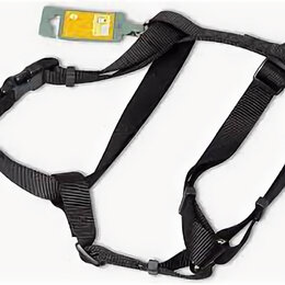 Шлейки  - HUNTER SMART шлейка для собак ECCO SPORT L (54-87/59-100 см) нейлон черная , 0